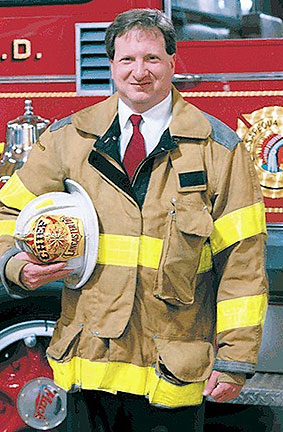 Glenn Usdin, Owner of Command Fire Apparatus and Veteran Fire Chief